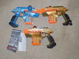 Lot of (3) Nerf Lazer Tag Phoenix LTX Tagger Guns - $59.39