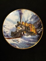 "The Franklin Mint Heirloom ROYAL DOULTON""WINTER ON MARSHALL PASS""Plate/T... - $5.94"