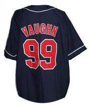 Rick Vaughn #99 Major League Movie Button Down Baseball Jersey Any Size image 2