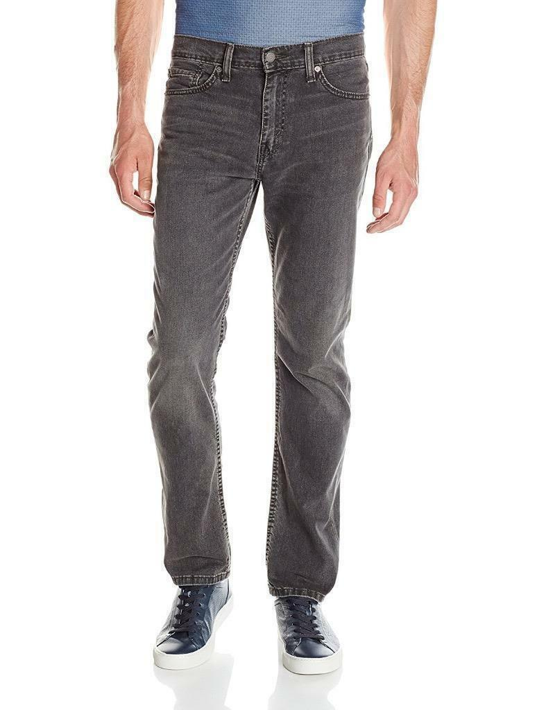 Levi's Strauss 511 Men's Premium Slim Fit Terra Stretch Jeans Gray 511-2079