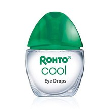 Rohto Cool The Original Cooling Redness Relief Eye Drops, 0.4 Ounce, 3 C... - $13.34