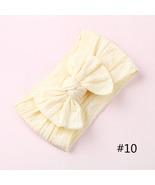 1PCS New Braid Nylon Bow Headbands,Cable Knit Solid Wide Nylon Headbands Turban, - $4.65