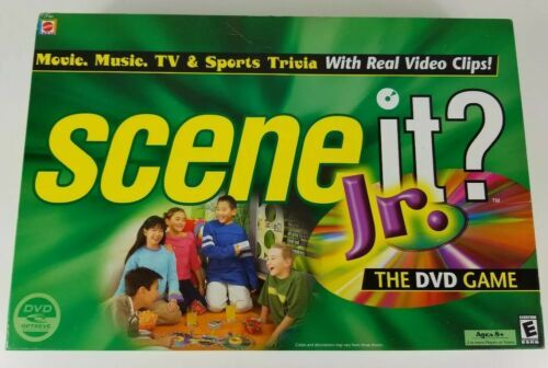 Primary image for Scene It Jr The DVD board game 2004 Mattel