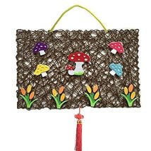 Mushroom Pattern DIY Hanging Wall Nursery D¨¦cor Product, 44x30 cm