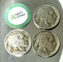 Buffalo Nickel 1917, 1918 and 1919 AA20BN-CN6075 image 2