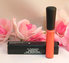 NEW MAC Mineralize Lip Gloss Precious Fruit  Full Size .20 fl oz / 6 ml - $17.99