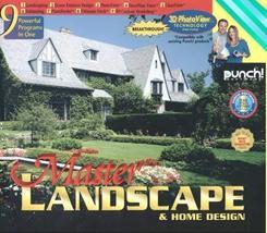 Punch! Master Landscape & Home Design - Old Version [CD-ROM] Windows NT ... - $48.43