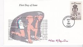 JIM THORPE #2089 SHAWNEE, OK MAY 24, 1984 RAWLINS CACHET #22/50 - ₹317.07 INR