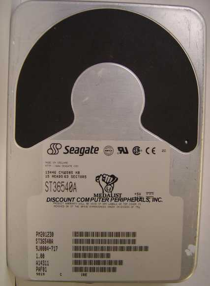 Seagate ST36540A 6.5GB 3.5in IDE 40pin Hard Drive Tested Good Free USA Shipping