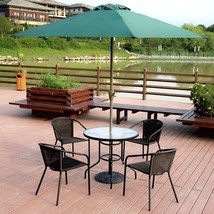 Garden Courtyard Tempered Glass Table Only57.56 Outdoor Furniture Patio - $94.75