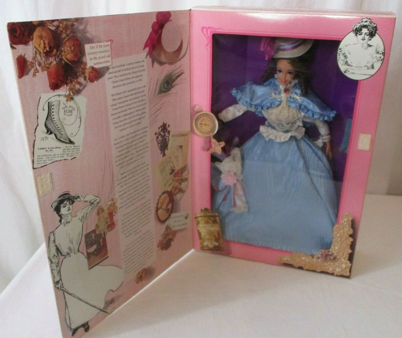 Primary image for 1993 Gibson Girl Barbie The Great Eras Collection NRFB