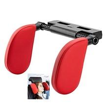 Car Seat Headrest Pillow, Memory Foam Support Detachable Neck Head - $34.96