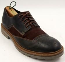 Clarks Dargo Limit Brown Leather Combi Lace Up Brogues Men's Shoes Sz 10... - $52.24