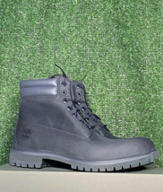 TIMBERLAND MEN'S 6-INCH DOUBLE-COLLAR WATERPROOF BOOTS SIZE 12 - £92.44 GBP