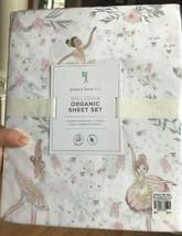 Pottery Barn Kids Ballerina Sheet Set Pink Twin Girls Organic 3pc - $69.00