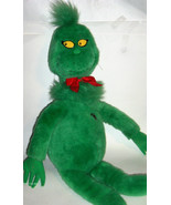 "Vintage 1997 Large 27"" Dr. Seuss Grinch Macy's Plush Stuffed -heart does... - $36.00"