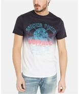Buffalo David Bitton Men's Tishade Graphic Cotton T-Shirt, Blue, Medium - $36.00
