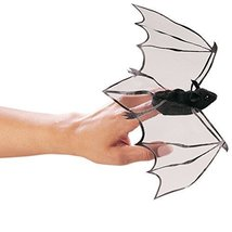 Folkmanis Mini Bat Finger Puppet Model: 2612 - $19.94