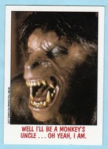 1988 Topps Fright Flicks Horror Movie Card #24 An American Werewolf In London - $4.90