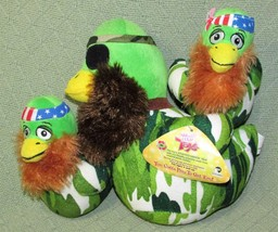 "Duck Dynasty Lot Sugar Loaf Plush Camo Ducks 11"" And 7"" Stuffed Animal Character - $17.72"