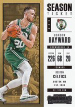 Gordon Hayward 2017/18 Panini Contenders Card #6 - $0.99