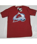 Colorado Avalanche Youth T-Shirt Roy Majestic Large 100% Cotton NHL Team... - $6.99