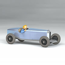 The Amilcar from Soviets 1/24 model car Tintin in the land of soviets 2019 image 3