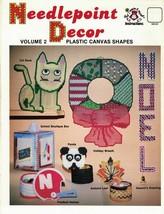 Harold Mangelsen NEEDLEPOINT DECOR Vol 2 for Plastic Canvas Panda Box Ca... - $4.99