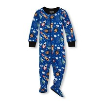 NWT The Childrens Place Boys Space Footed Stretchie Pajamas Sleeper 2T 3T 4T 5T - $8.99