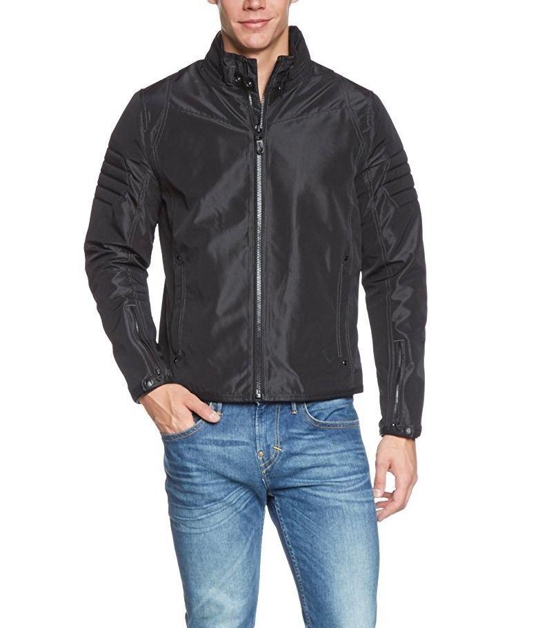 G Star Raw Branco Motorcycle Jacket, Black, Size XX-Large BNWT $290 - $124.75