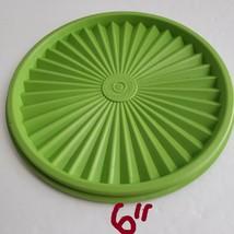 "Choice 6""- 6 1/2"" Apple Green Replacement Lid  TupperwareRound Servalier - $5.39"