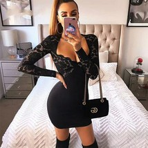 Women Bodycon Bandage Dress Summer New Sexy Lady Clothes Celebrity Eveni... - $67.97