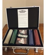 Cardinal's Professional Texas Hold'em Poker Set in Metal Carry Case   Br... - $23.95
