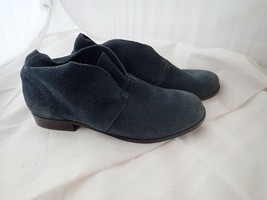 Steven By Steve Madden Navy Suede Axcent ankle Boots Size 6 M - $21.38