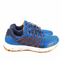 NIB Fila Men's Sorrento Trail Running Sneaker, Blue/Orange Size 12 - $59.40