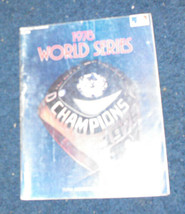 World Series Program 1978 MLB baseball ny yankees - $15.00