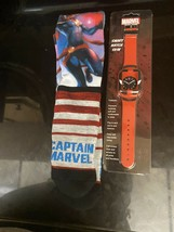 Marvel Crew Socks And Watchband Kids Set - $16.82