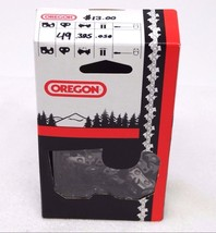 "Oregon .325"" Pitch .050"" Gauge 49 Link Chainsaw Chain (qpx6jg) - $12.59"