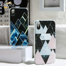 KISSCASE® Geometric Mable Case For Huawei P20 Mate 20 10 Lite Pro P Smart - $3.56+