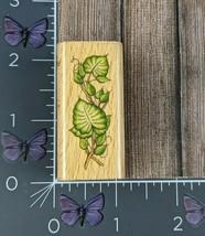 Stampcraft Donna Dewberry Leaf Border Rubber Stamp Ivy Plant Wood #Ai94 - $2.72