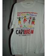 Hey Mon No Problem We Be Jammin Caribbean St. Thomas U.S.V.I T-Shirt Siz... - $17.00
