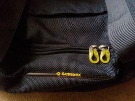 Samsonite Gray Yellow Travel Case Duffel Luggage image 5