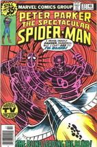 Spectacular Spider-Man Comic Book #27 Miller Daredevil Marvel 1979 FINE+ - £23.26 GBP