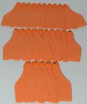 Destron Fearing DuFlex Visual ID Livestock Panel Tags XL Orange Blank 25 Sets image 4