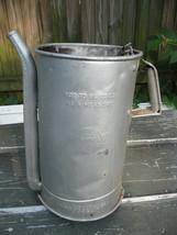 Vintage Huffman Oil Can Service Station Dispenser - $19.79