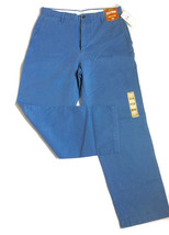 DOCKERS Mens Khakis Flat Front Pants Size 32x30 Blue Classic Fit Chinos  - $34.64
