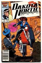 Dakota North #1-First issue-Marvel comic book 1986 - £10.10 GBP