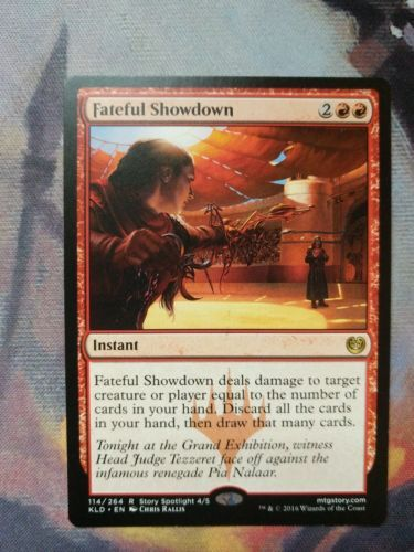 Fateful Showdown Red Instant Kaladesh M/NM Magic The Gathering MTG Single