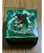 Game Boy Advance SP Rayquaza Edition Pokemon Center Limited GBA Green Ni... - $1,248.92