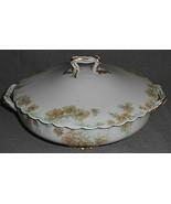 Haviland Porcelain THE COUNTESS PATTERN Round Casserole w/Lid LIMOGES FR... - $49.49